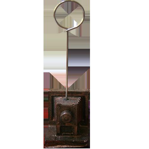 پایه عکس رومیزی طرح دوربین قدیمی برنز