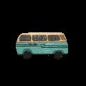 پیکسل چوبی طرح اتوبوس