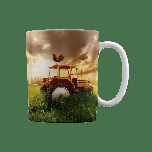 لیوان سرامیکی طرح مزرعه