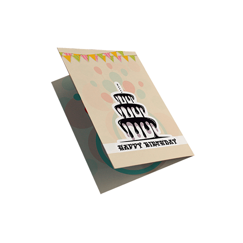 کارت تبریک طرح happy bithday