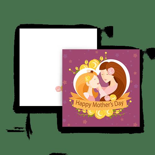 کارت تبریک طرح پر ستاره روز مادر