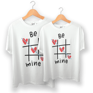 تی شرت طرح be mine