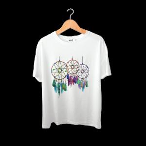 تی شرت طرح رویای رنگی