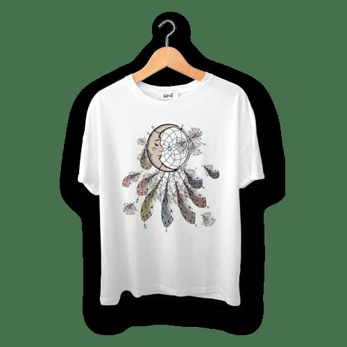 تی شرت طرح رویای ماه