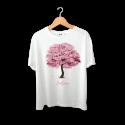تیشرت طرح درخت بهاری