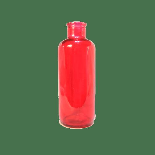 شیشه رنگی اقلیما قرمز