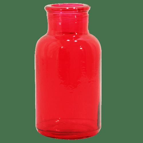 شیشه رنگی میترا قرمز