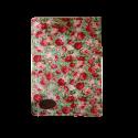 دفتر یادداشت جلد پارچه ای طرح شکوفه