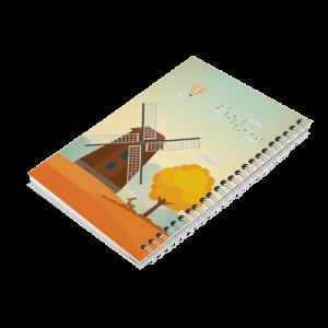 دفتر یادداشت آسیاب