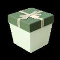جعبه کادویی طرح پرفکت سبز