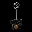 پایه عکس طرح تلفن قدیمی