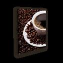 تابلو طرح قهوه