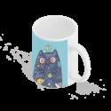 لیوان سرامیکی گربه فضایی