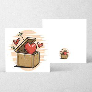 کارت تبریک عاشقانه